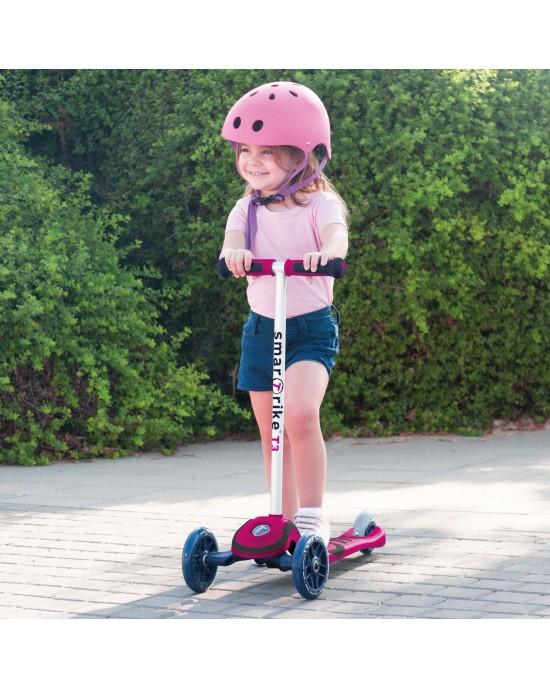 Παιδικό Πατίνι Scooter T3 SmarTrike Ροζ - 2000200
