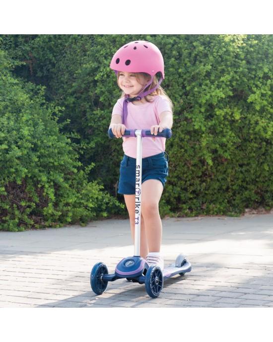 Παιδικό Πατίνι Scooter T3 SmarTrike Μωβ - 2000500