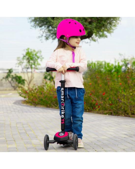 Παιδικό Πατίνι Scooter T5 SmarTrike Ροζ - 2010100