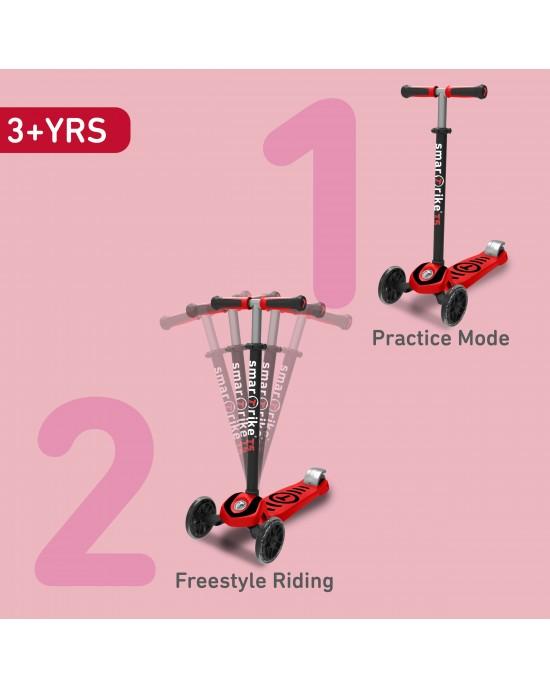 Παιδικό Πατίνι Scooter T5 SmarTrike Κόκκινο - 2010500