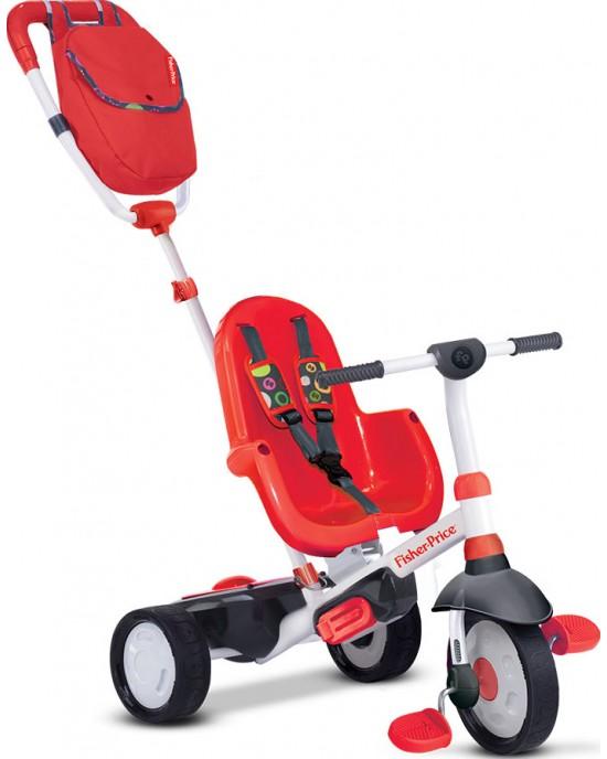 Παιδικό Τρίκυκλο Fisher Price Charisma 4 Σε 1 Κόκκινο - 3200533
