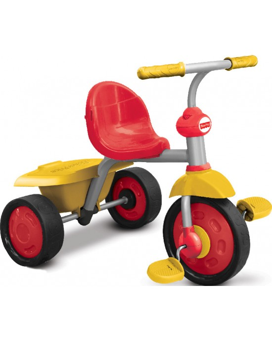 Παιδικό Τρίκυκλο Fisher Price Glee Plus Κόκκινο / Κίτρινο - 3300133