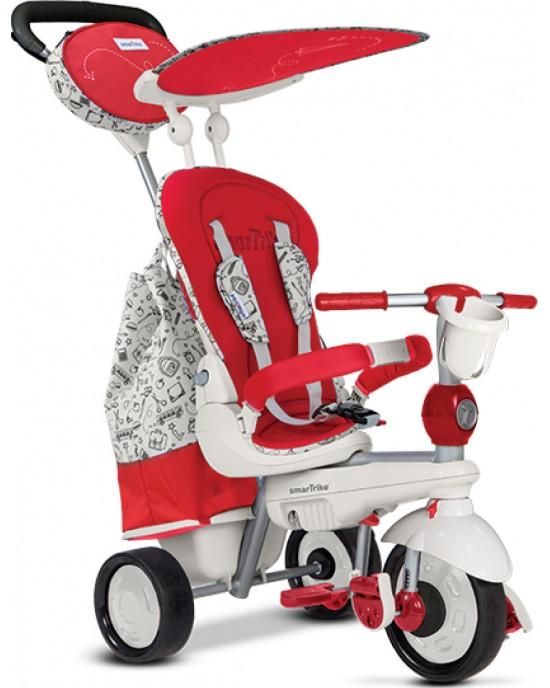 Παιδικό Τρίκυκλο SmarΤrike Dazzle 5 Σε 1 Κόκκινο / Άσπρο - 6802100