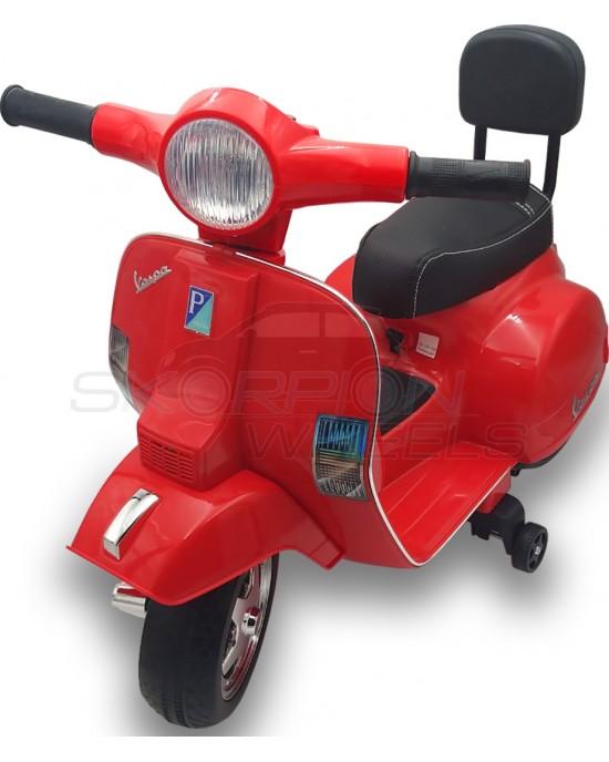 Παιδική Μηχανή Skorpion 6V Vespa Piaggio Original Κόκκινη - 5245008