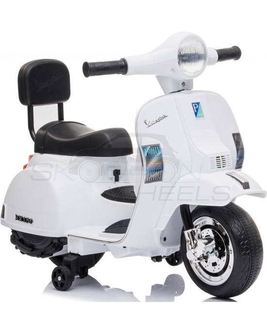Παιδική Μηχανή Skorpion 6V Vespa Piaggio Original Λευκή - 5245008