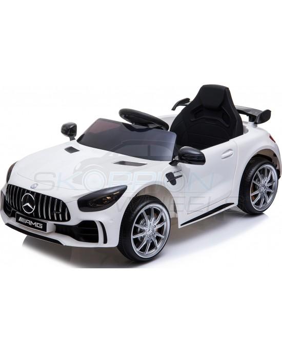 Παιδικό Αυτοκίνητο Skorpion Mercedes GTR Original 12V Λευκό - 5246005