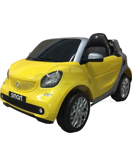 Παιδικό Αμάξι Smart Fortwo 12V Skorpion Κίτρινο - 52460561