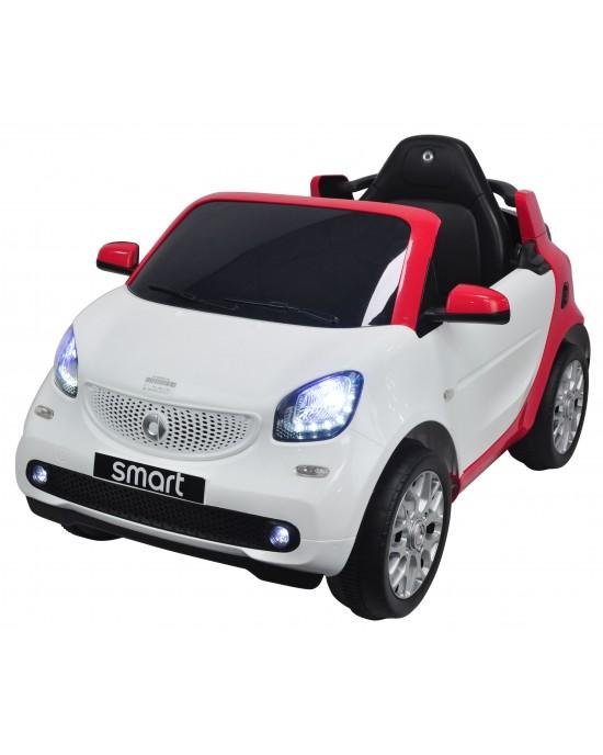 Παιδικό Αμάξι Smart Fortwo 12V Skorpion Λευκό - 52460561