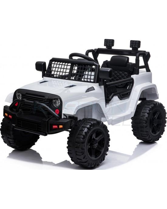 Παιδικό Αυτοκίνητο Skorpion Jeep Wrangler Style 12V Λευκό - 5246091