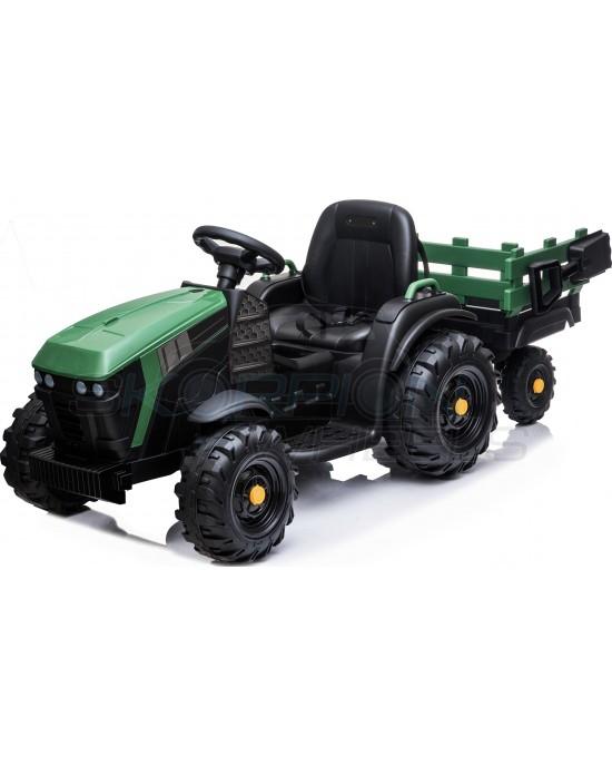 Παιδικό Αυτοκίνητο Skorpion Τρακτέρ Με Καρότσα Πράσινο - 5248025