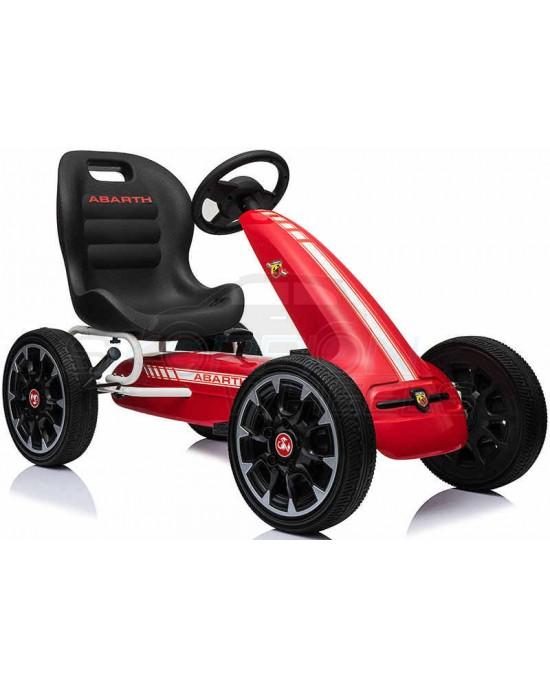 Πεταλοκίνητο Kart Skorpion Abarth Original Κόκκινο - 5243030