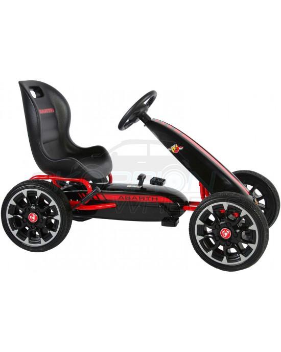 Πεταλοκίνητο Kart Skorpion Abarth Original Μαύρο - 5243030