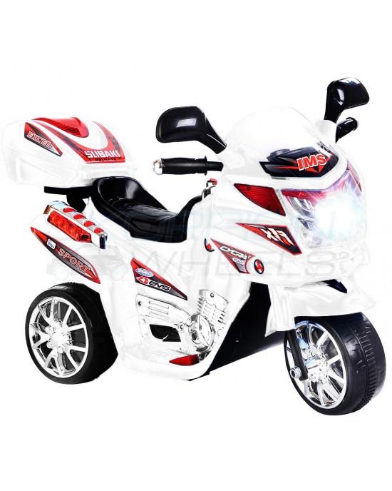 Παιδική Μηχανή Skorpion 6V Λευκή - 5245020