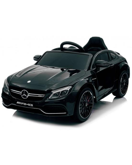 Παιδικό Αυτοκίνητο Skorpion Mercedes Benz C63s Original 12V Μαύρο - 5246063