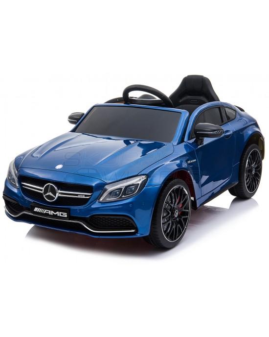 Παιδικό Αυτοκίνητο Skorpion Mercedes Benz C63s Original 12V Μπλε - 5246063