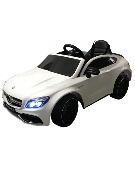 Παιδικό Αυτοκίνητο Skorpion Mercedes Benz C63s Original 12V Λευκό - 5246063