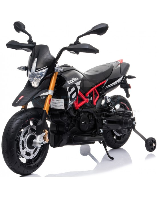 Παιδική Μηχανή Skorpion 12V Aprilia Dorsoduro 900 Μαύρη - 5245015