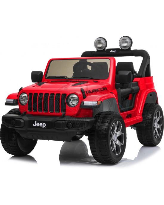 Παιδικό Αυτοκίνητο Skorpion JEEP Wrangler Rubicon 12V Κόκκινο - 5247052