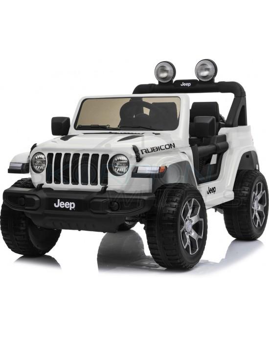 Παιδικό Αυτοκίνητο Skorpion JEEP Wrangler Rubicon 12V Λευκό - 5247052