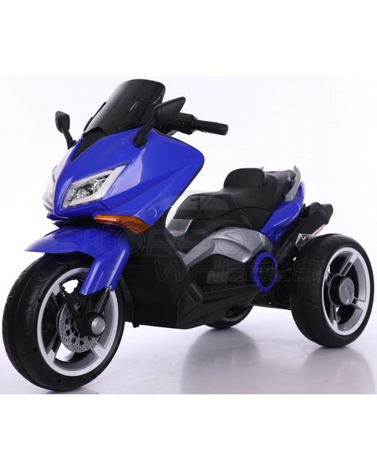 Παιδική Μηχανή Skorpion 12V Yamaha T-MAX Style Μπλε Με 3 Ρόδες - 5245090