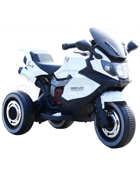 Παιδική Μηχανή Skorpion 6V BMW Style Λευκή - 5245051