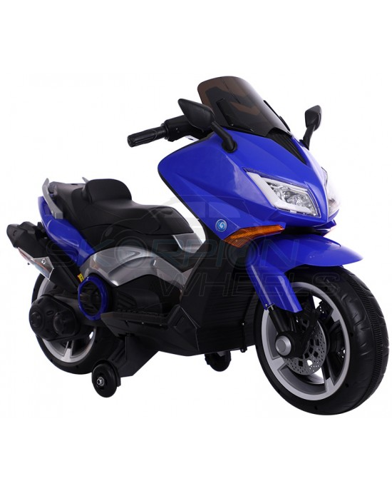 Παιδική Μηχανή Skorpion 12V Yamaha T-MAX Style Μπλε - 5245091