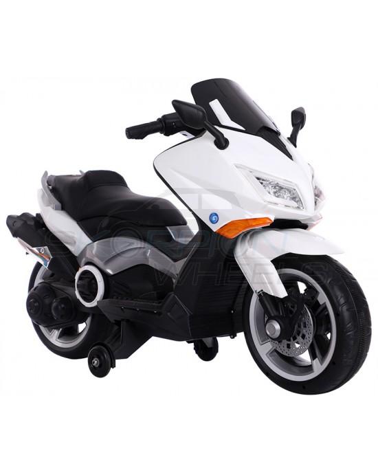 Παιδική Μηχανή Skorpion 12V Yamaha T-MAX Style Λευκή - 5245091