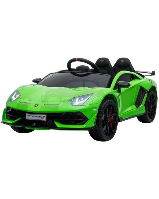Παιδικό Αυτοκίνητο Skorpion Lamborghini Aventador SVJ Original 12V Πράσινο - 52460671