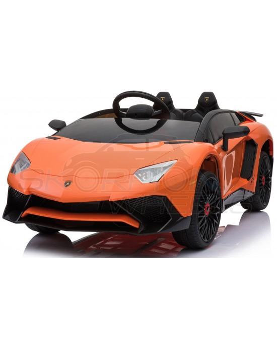 Παιδικό Αυτοκίνητο Skorpion Lamborghini 12V Original Πορτοκαλί - 5246033