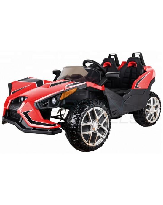 Παιδικό Αυτοκίνητο Skorpion ATOM Style 12V Κόκκινο Διθέσιο - 5248080