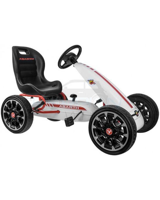 Πεταλοκίνητο Kart Skorpion Abarth Original Άσπρο - 5243030