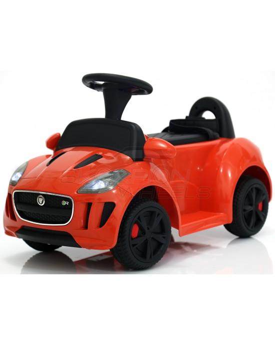 Παιδικό Αυτοκίνητο Skorpion Jaguar F-TYPE Style 12V Πορτοκαλί - 5244038