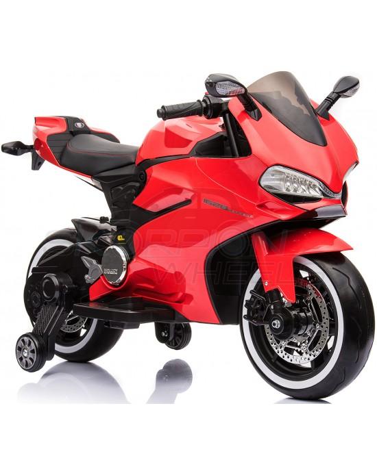 Παιδική Μηχανή Skorpion 12V Ducati 1199 Panigale S Style Κόκκινη - 5245016