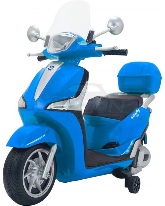 Παιδική Μηχανή Skorpion 12V Piaggio Liberty Original Μπλε - 52450961