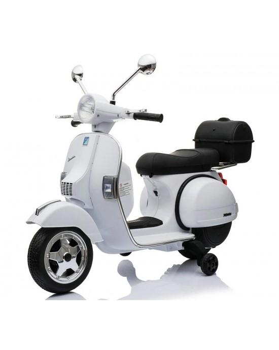 Παιδική Μηχανή Skorpion 12V Vespa Piaggio Original Λευκή - 5245050