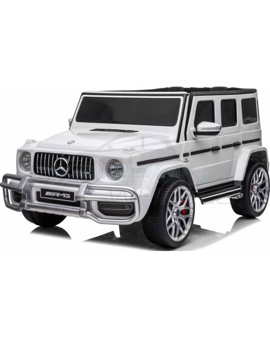 Παιδικό Αυτοκίνητο Skorpion Mercedes Benz G63 AMG 12V Λευκό - 5247037