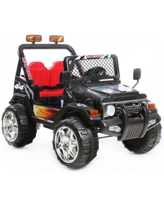 Παιδικό Αυτοκίνητο Skorpion Jeep Wrangler 12V Μαύρο - 5247061