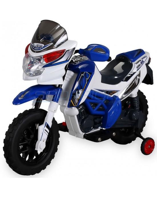 Παιδική Μηχανή Skorpion 12V Cross KTM Style Μπλε - 5245017