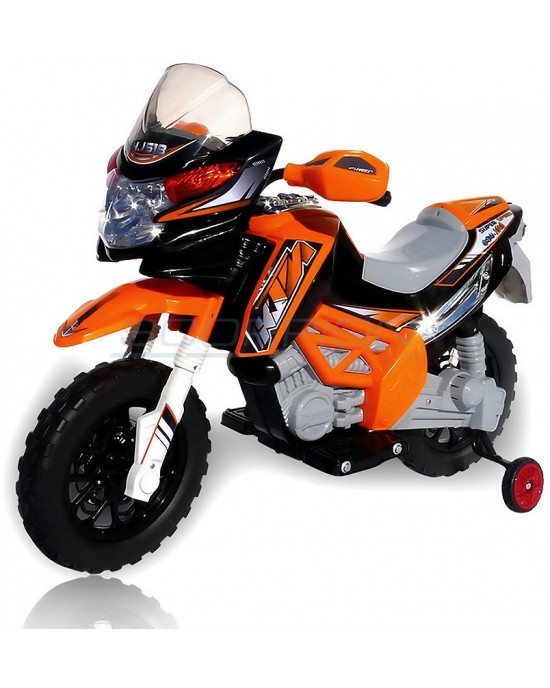 Παιδική Μηχανή Skorpion 12V Cross KTM Style Πορτοκαλί - 5245017